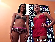 Jerk Your Dick While We Tease You With Our 18Yo Asses Joi