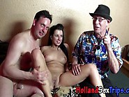 Real Dutch Skank Fucks And Sucks