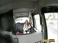 Blonde Haired Teen Gets Her Pussy Fucked Hardcore Taxi Style