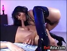 Asian Slut Drilled In The Ass