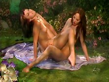 Betty Sue With Charlie Laine Pussylicking Lesbian 69 Glamour Fin