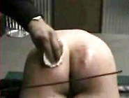 Daddy Spanks Daughter Giving Extreme Red Welts.