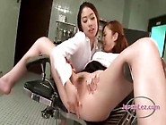 Asian Woman Getting Speculum To Asshole Fingered By The Doctor I