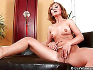 Over 50 Milf Enjoys Her Fingers And His Cock In Her Old Cunt