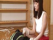 Yuu Shinoda Strapon Anal Dildo And Handjob