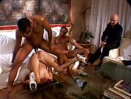 Whore Wife Anal Fucked By Two Black Men In Front Of Her Man