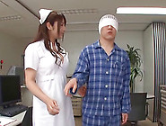 Desirous Asian Nurse Swallows Cum After Giving A Her Patient A B