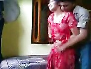 Mature Indian Woman Got Banged From The Back,  While Her Husband
