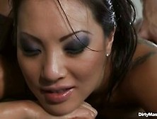Asa Akira Is Getting A Relaxing Massage And Hoping To Get A Good