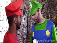 Power-Up Plumbers Preview - Mario Bros Gay Xxx Cosplay Parody