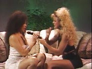 Saki And Susan In Interracial Lesbian Vintage Vid