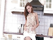 Russian Pornstar Emma Brown Getting Naughty In The Kitchen In St