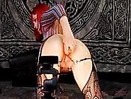 Super Hot Redhead Slut Dazzles In Cam Show