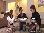 Yuu Namiki Captivating Japanese Babe Gets Hot Threesome Fuck