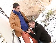 Dirty Gay Thug Sex Two Sexy Hunks Fuck Outdoors For Money!
