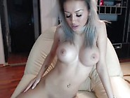 Round Fake Tits French Cam Slut Teases