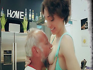 Dad Fucks Teen Step Daughter Cums In Her Mouth Swallow