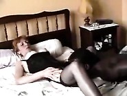 Redhead Granny Loves Black Dick In Caryn