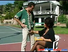 Mature Cougar Seduce Young Guy
