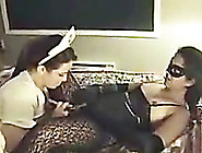 Lesbian Roleplay Session Of My Curvy Wife And Her Bets Girlfrien