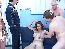 A Guy Watches His Milf Wife Get Gangbanged An Jizzed On