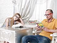 Nerdy Couple Puts Down Their Books Long Enough To Fuck
