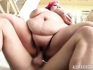 Big Chubby Eliza Allure Clit Slit Slammed With Alura Jenson