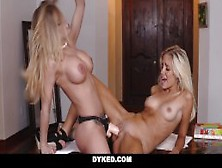 Dyked - Teen Naomi Woods Dommed By Lesbian Boss