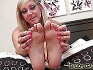 Pamper And Worship My Elegant Feet