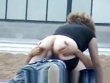 Drunk Couple Doing It In Public