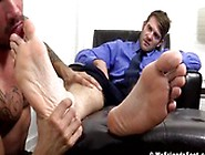 Zack's Big Stinky Feet Turn Me On And Make Me Want So More To Lo