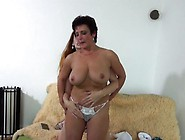Busty Old Bitch Gets Fingered And Fisted By Her Younger Lesbian