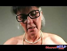 Horny Granny Got Some Nice Ass And Tits