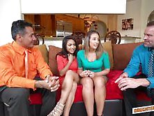 Daughters Nicole Bexley And Layla London Are Happy To Swap