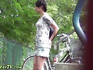 Women peeing panties on utube usually