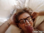 Hot Teen Sluts Taking Massive Facials Compilation