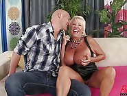 Busty Blonde Gilf Mandi Mcgraw Enjoys Some Cock