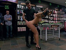 Sexy Latina Babe Destroyed In Public