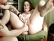 Incredibly Naughty German Granny Definitely Loves Anal Fisting