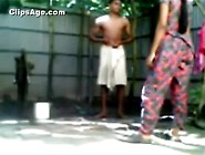 Indian Young Bangladeshi Couple Bathing Outdoor And Having Sex V