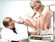 Doctor Fondles And Fingers His Blonde Milf Patient