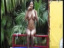 India Dunked Into Dunk Tank