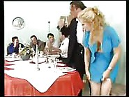 Maid Pleasing The Guests