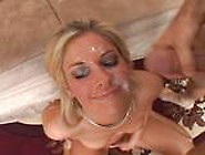Chayse Evans Desperate For Cum-Swallowing Gangbang