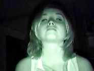 Nightvision Blowjob And Swallow
