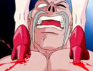 Hentai Teacher Foot Fucks Big Tits Slut