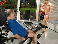 Old Dick Sucked By Blonde