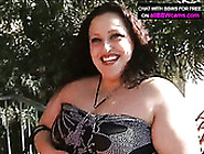 Pale Skinned Mommy With Huge Boobs Gets Her Clam Licked And Fing