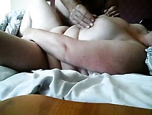 Wife Masturbating To Orgasm For A Stranger