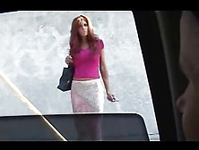 Redheaded Milf Picked Up And Plowed By Strangers!